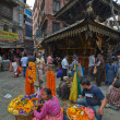 Stock Photo: Kathmandu street