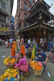 Kathmandu street — Stok fotoğraf