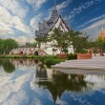 Sanphet prasat Palazzo, bangkok cityf antico — Foto Stock #45984657