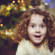 Surprised little girl — ストック写真