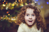 Surprised little girl — Stock Photo