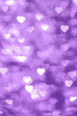 Violet abstract background heart — Stock Photo