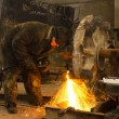 Stock Photo: Welder at work.