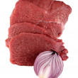 Raw beef - Stock Photo