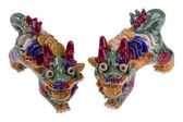 Chinese dragons — Stock Photo