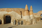 Stage in Sahara — Stock Photo