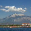 Beach in Kemer — Stock Photo
