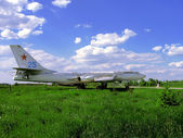 Ussr aviation technology — Stock Photo