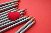 Amor y dibujo — Foto de Stock