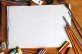 Cuaderno de bocetos — Foto de Stock