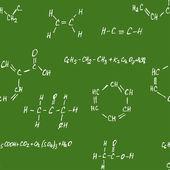 Seamlessly vector pettern - chemistry — Stock Vector