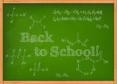 Class chalkboard — Stock Vector