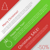 Christmas infographic — Stock Vector