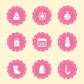 圣诞节图标 — 图库矢量图片