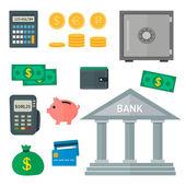 Icono de finanzas — Vector de stock