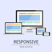 响应 web 设计 — 图库矢量图片