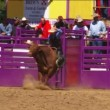 Rodeo Bull Riding Tragedy — Stock Video #13996704
