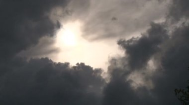 Dissapearing Sun Time Lapse — Stock Video