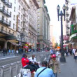 Stock Video: Street with and traffic in the city