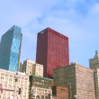 Downtown Chicago 2 Timelapse — Stock Video