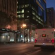 CHICAGO - CIRCA 2011: Time lapse of downtown area with buses and cars driving through the city. — Stock Video #16309837