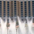 Stock Video: Las Vegas Bellagio Finale