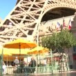 View from under Eiffel Tower in Paris — Stock Video #21120209