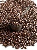 ビンテージ スクープ ロースト コーヒー豆 — ストック写真