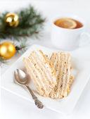 Med koláč — Stock fotografie