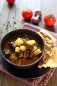 Hungarian soup goulash — Stock Photo