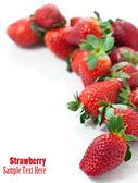 Fresh red strawberries — Stock Photo
