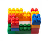 Constructor bricks — Stock Photo