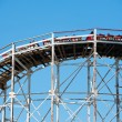 NEW YORK - JUNE 27: Cyclone Roller-coaster on June 27, 2012 in N — Stock Photo #14143889