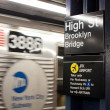 High street metro station. NYC. — Stockfoto #14178236