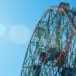 Stock Photo: Coney Islands Wonder Wheel on June 27, 2012