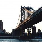Williamsburg bridge, New York city. — Stock Photo