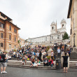 ROME - SEPTEMBER 13. Rome, seat of the Italy — Stock Photo