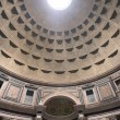 Interior view of the dome of the Pantheon in Rome, Italy. — Stock Photo #14178377