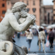 Stock Photo: Fontandel Moro in PiazzNavona. Rome, Italy.