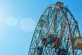 Coney Islands Wonder Wheel on June 27, 2012 — Stock Photo