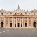 St. Peter's Basilica in Vatican, Rome, Italy. — Foto de Stock