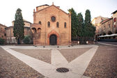 Saint Stephen square, Bologna, Italy. — Stock Photo