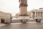 St. Peter's square in Vatican, Rome, Italy. — Foto Stock