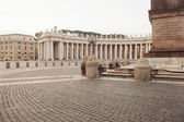 St. Peter's square in Vatican, Rome, Italy. — Stock Photo