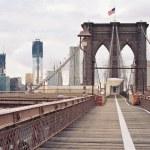 Brooklyn Bridge in New York City. — Stock Photo