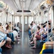 ������, ������: Commuters in subway wagon on June 29 2012 in NYC