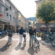 LIENZ, AUSTRIA - JULY 27: City center view, July 27, 2012 in Lie — Stock Photo #14580881
