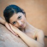 Sweet beautiful dancer girl portrait. — Stock Photo
