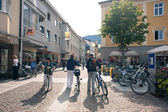 LIENZ, AUSTRIA - JULY 27: City center view, July 27, 2012 in Lie — Stock Photo
