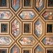 Palazzo Te ancient ceiling, Mantua, Italy - Stock Photo